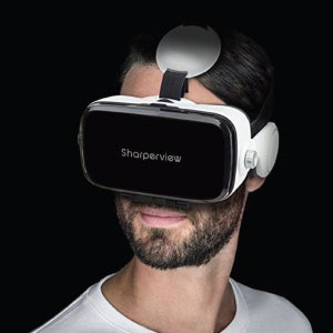 2a5c29f28a2 Shop Sharperview Virtual Reality Headset with Built-in Stereo Headphones -  Free Shipping On Orders Over  45 - Overstock - 14519910