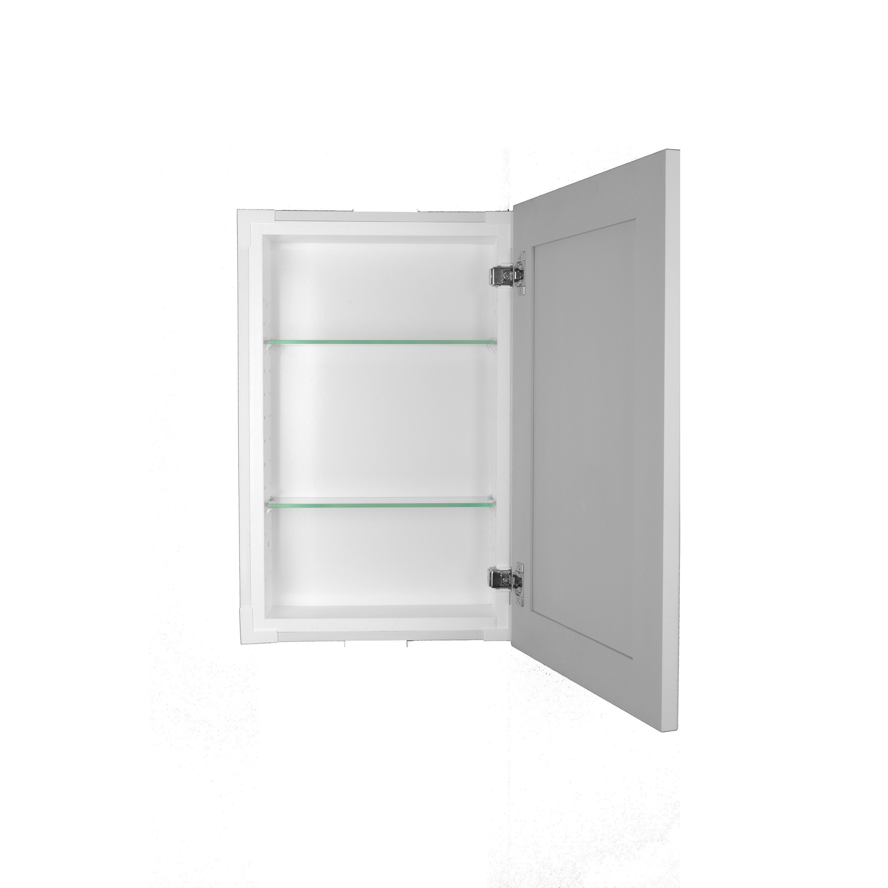 Shop Shaker Style Frameless Recessed-in-wall Bathroom Medicine ...