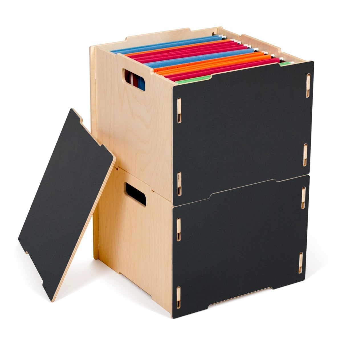 office file boxes modern wood hanging boxes free shipping today overstock 21075373 296 boxes