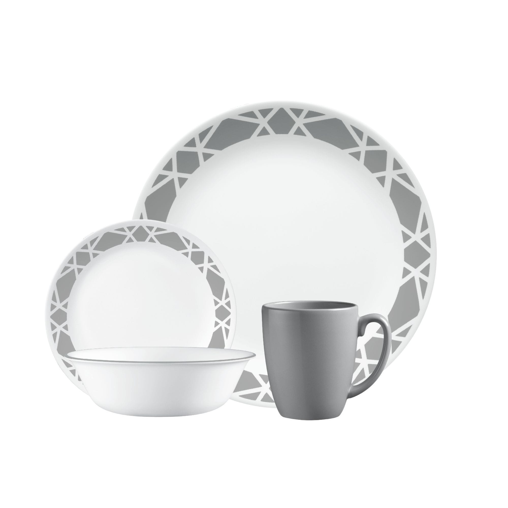 Corelle Livingware Modena 16-piece Dinnerware Set - Free Shipping Today - Overstock - 21076031  sc 1 st  Overstock & Corelle Livingware Modena 16-piece Dinnerware Set - Free Shipping ...