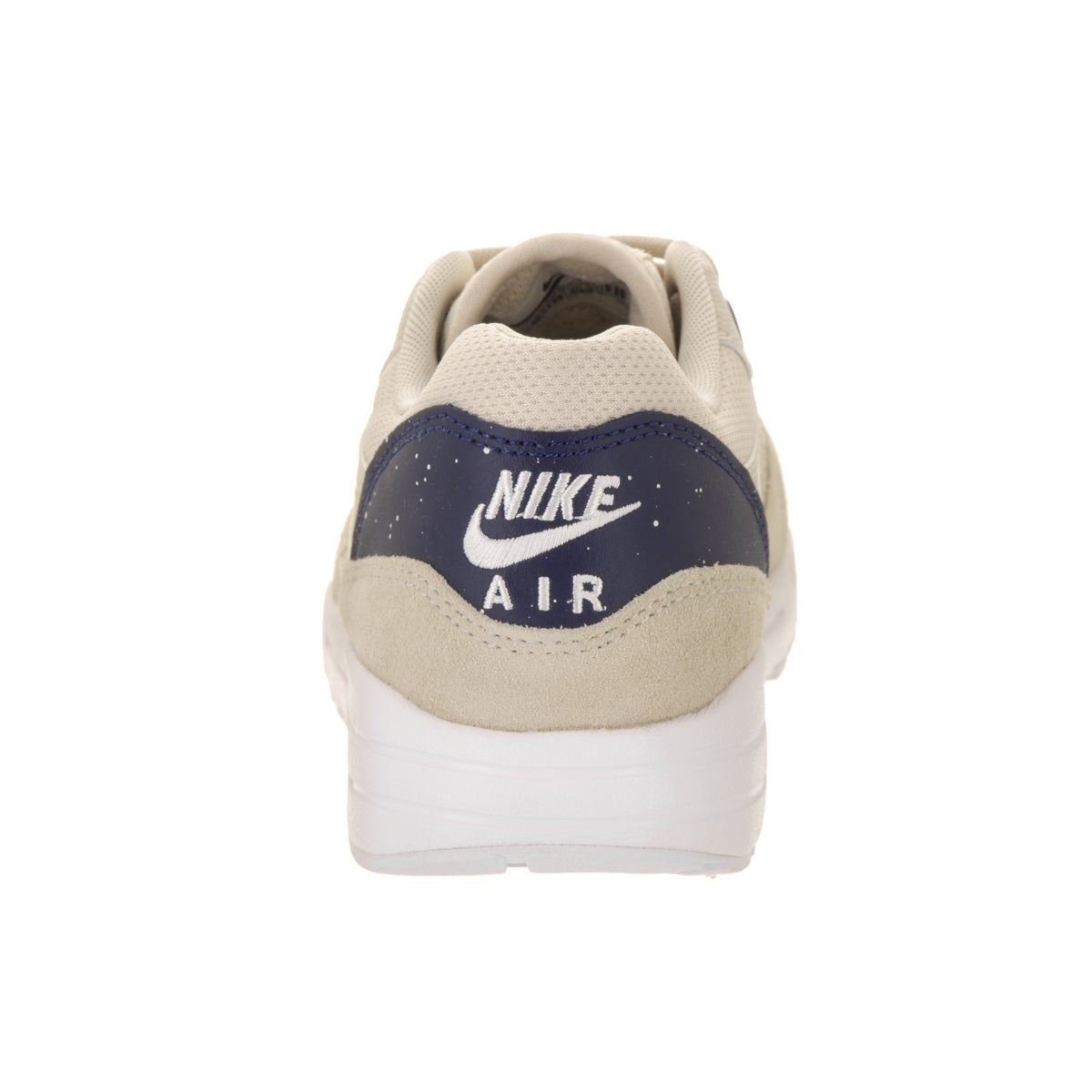 Nike Women's Air Max 1 Ultra 2.0 Beige Suede Running Shoes