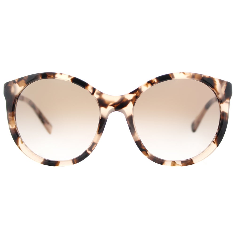 b3d5bf0eff Shop Michael Kors MK 2034 320513 Island Tropics Pink Tortoise Plastic Round  Sunglasses Brown Peach Gradient Lens - Ships To Canada - Overstock -  14540193