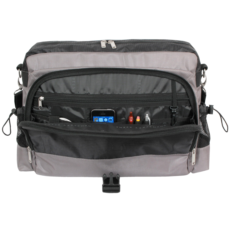 Geoffrey Beene Tech 17 Inch Laptop Messenger Bag Free Shipping Today 14541058