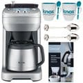 Breville The Grind Control Coffee Grinder (Stainless) Accessory Bundle