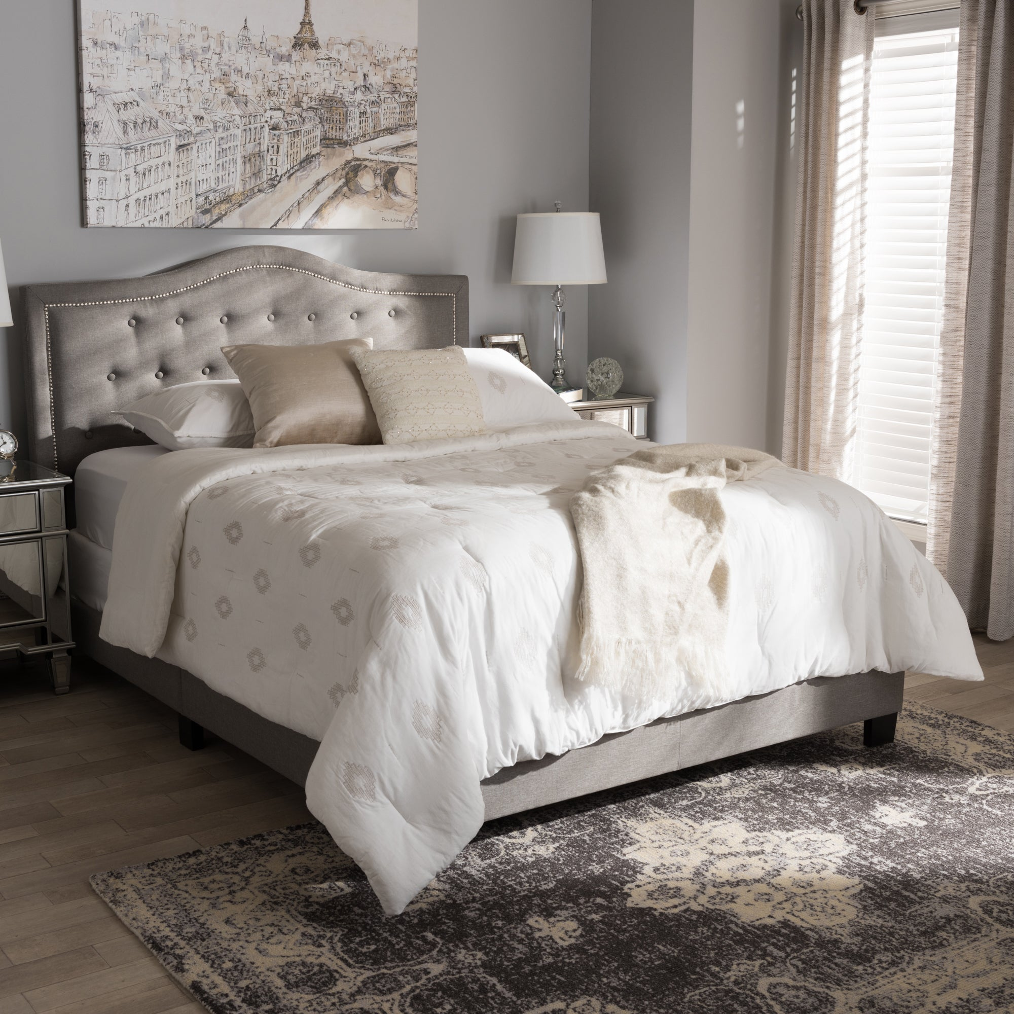 product today comforter brown free bedding park dune bed madison bath contemporary beige overstock shipping piece set