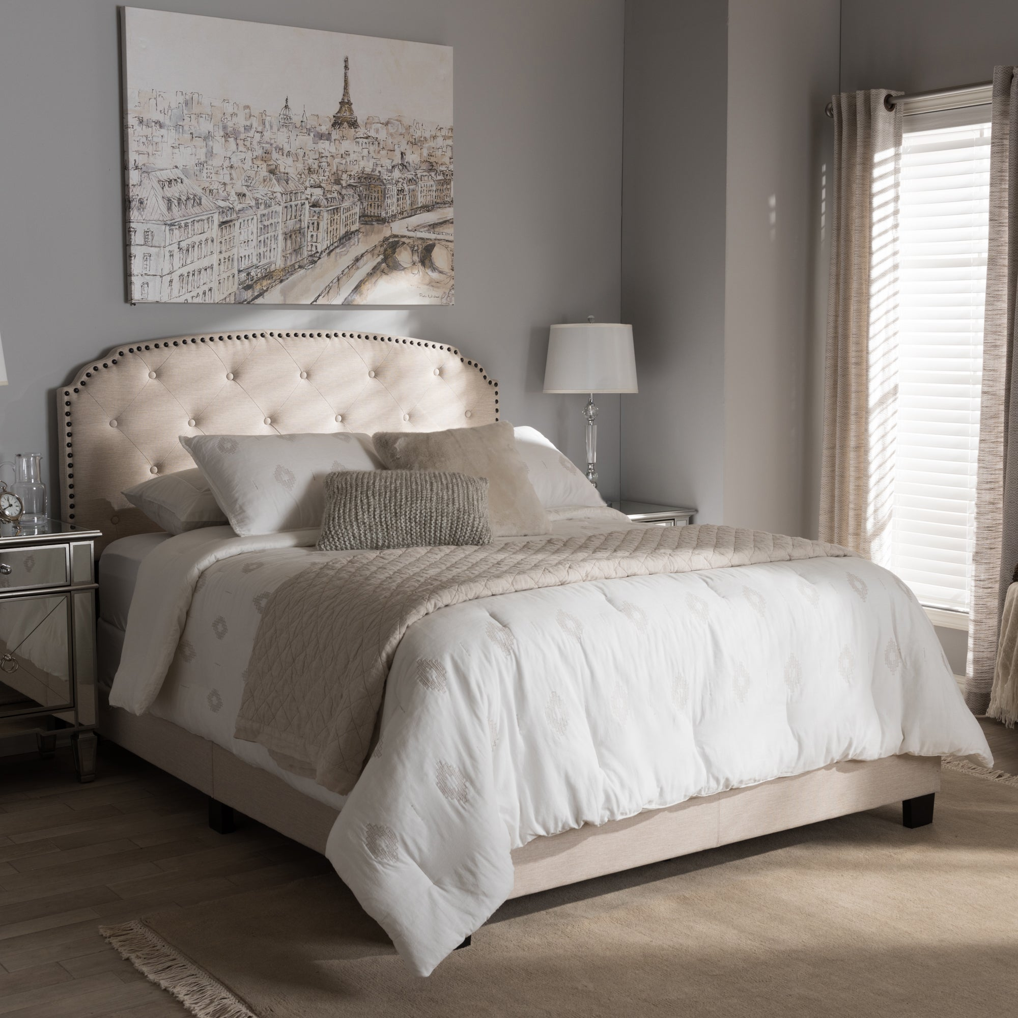 in bed beds co design ashley products king by fabric nongzi gray romeo upholstered
