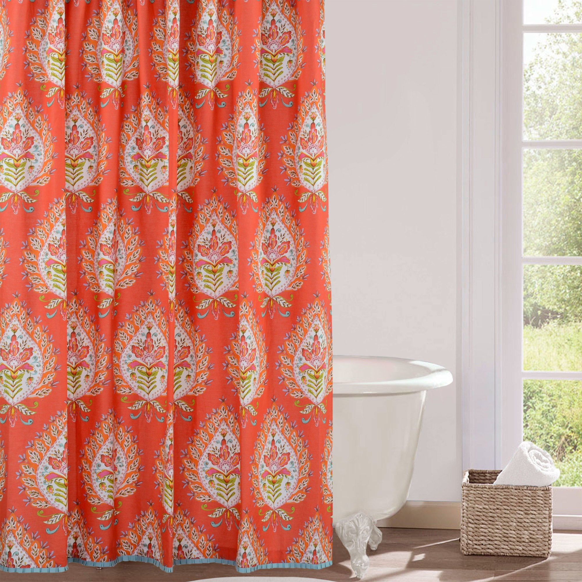 greenland southwestern curtains shower amazon home dp com curtain kitchen bath southwest