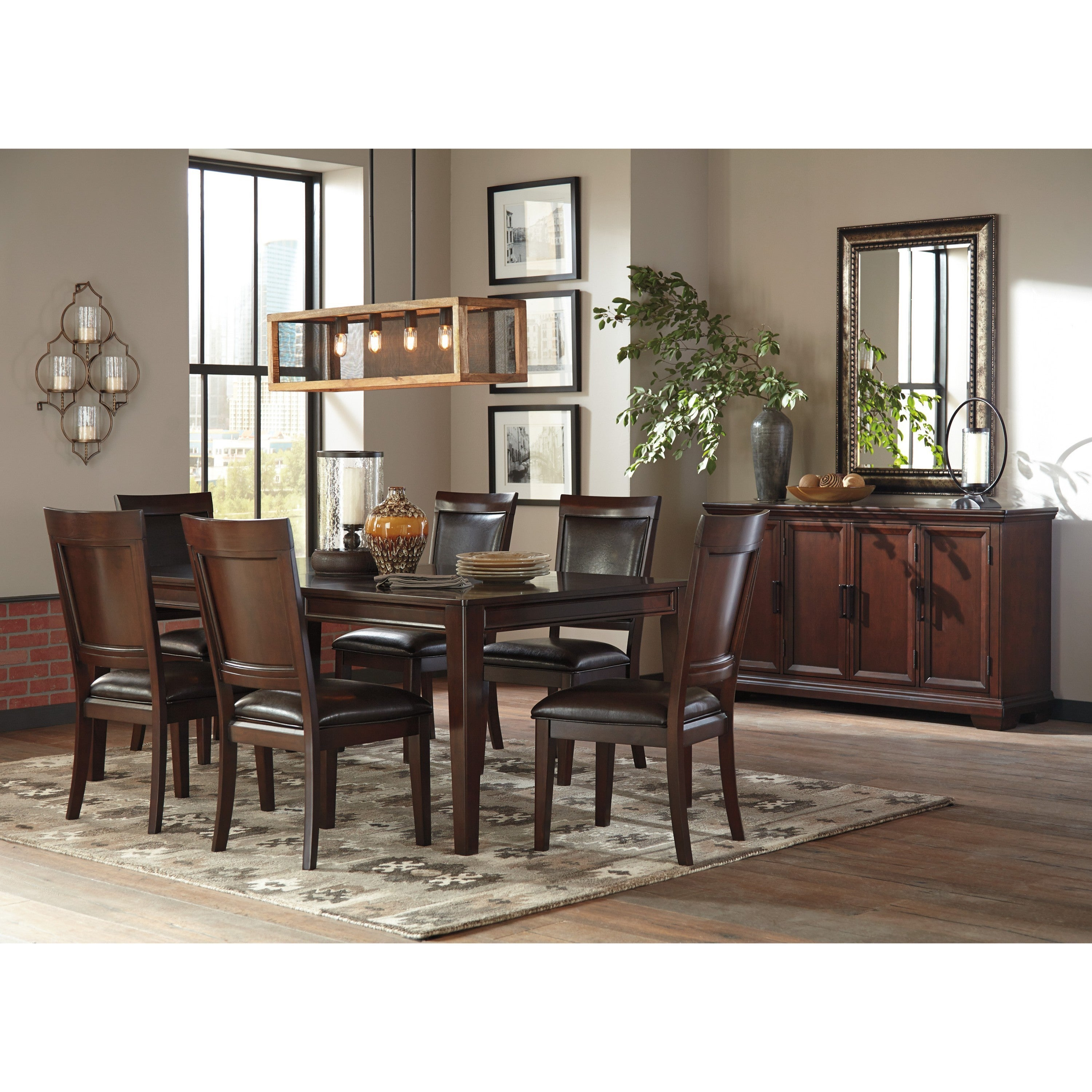 Shop Signature Design By Ashley Shadyn Brown 5 Piece Dining Set   Free  Shipping Today   Overstock.com   14564513