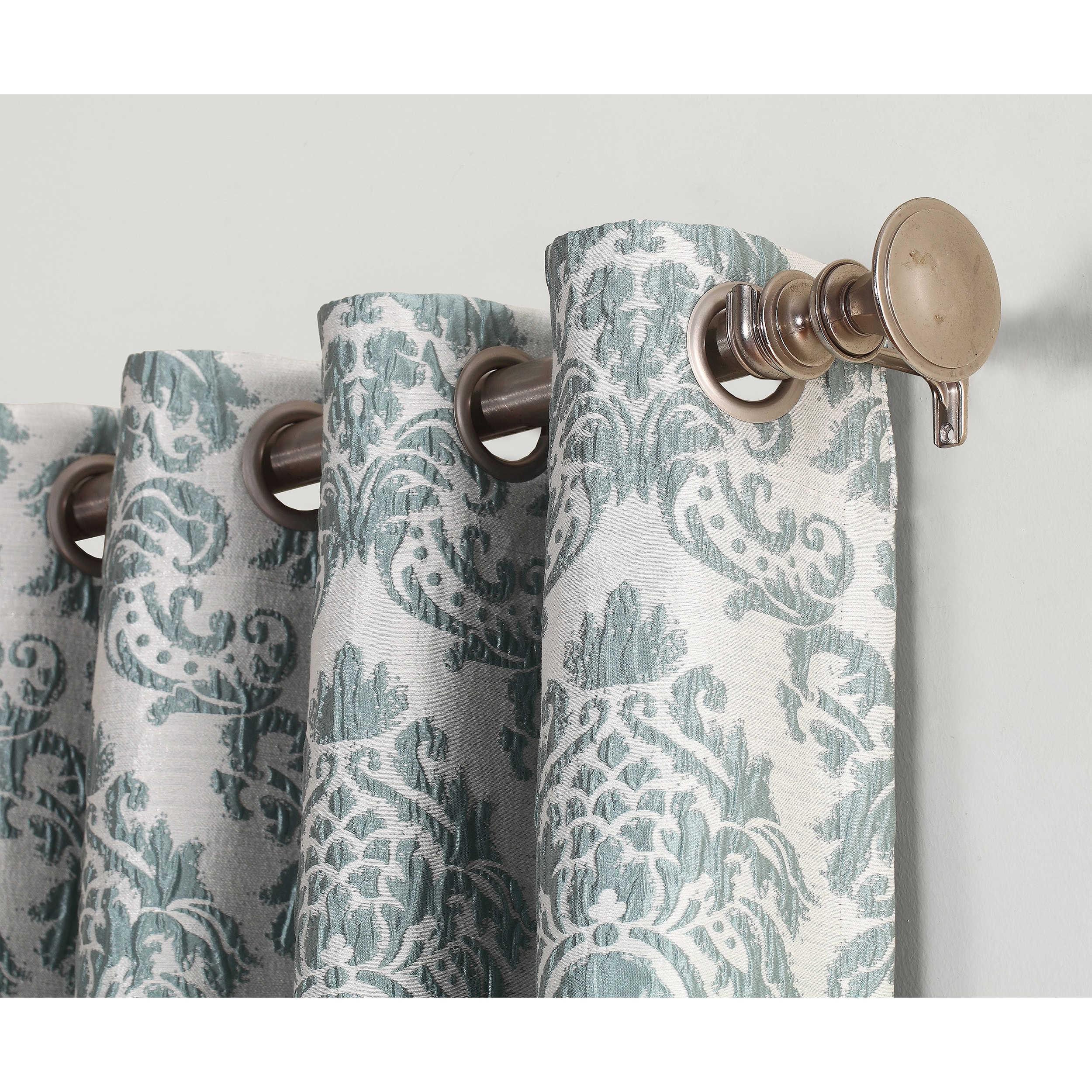 Sun Zero Claudine Blackout Lined Grommet Window Curtain Panel Free Shipping On Orders Over 45 14565343