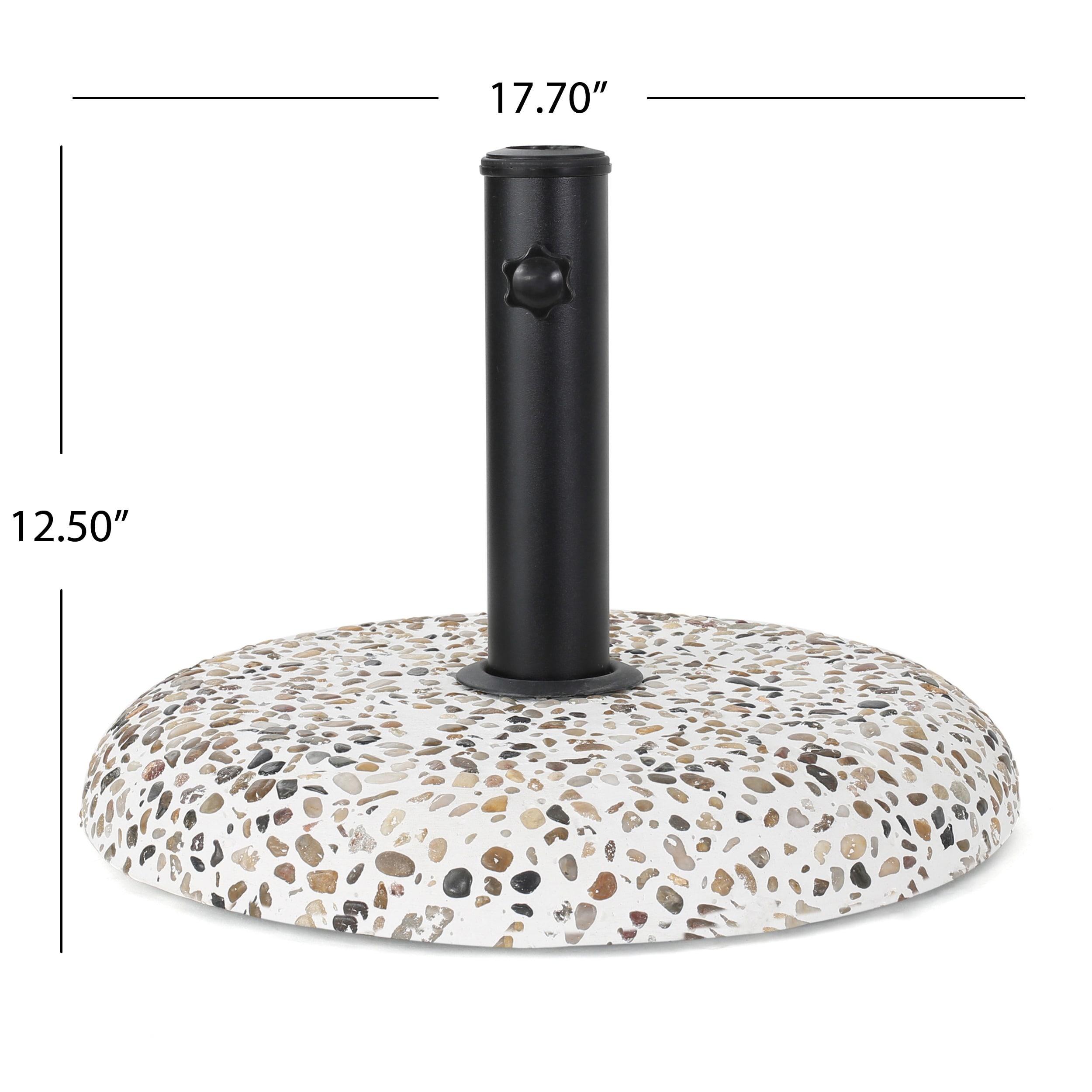 Shop Sahara Outdoor 45 Pound Round Multi Color Stone Concrete
