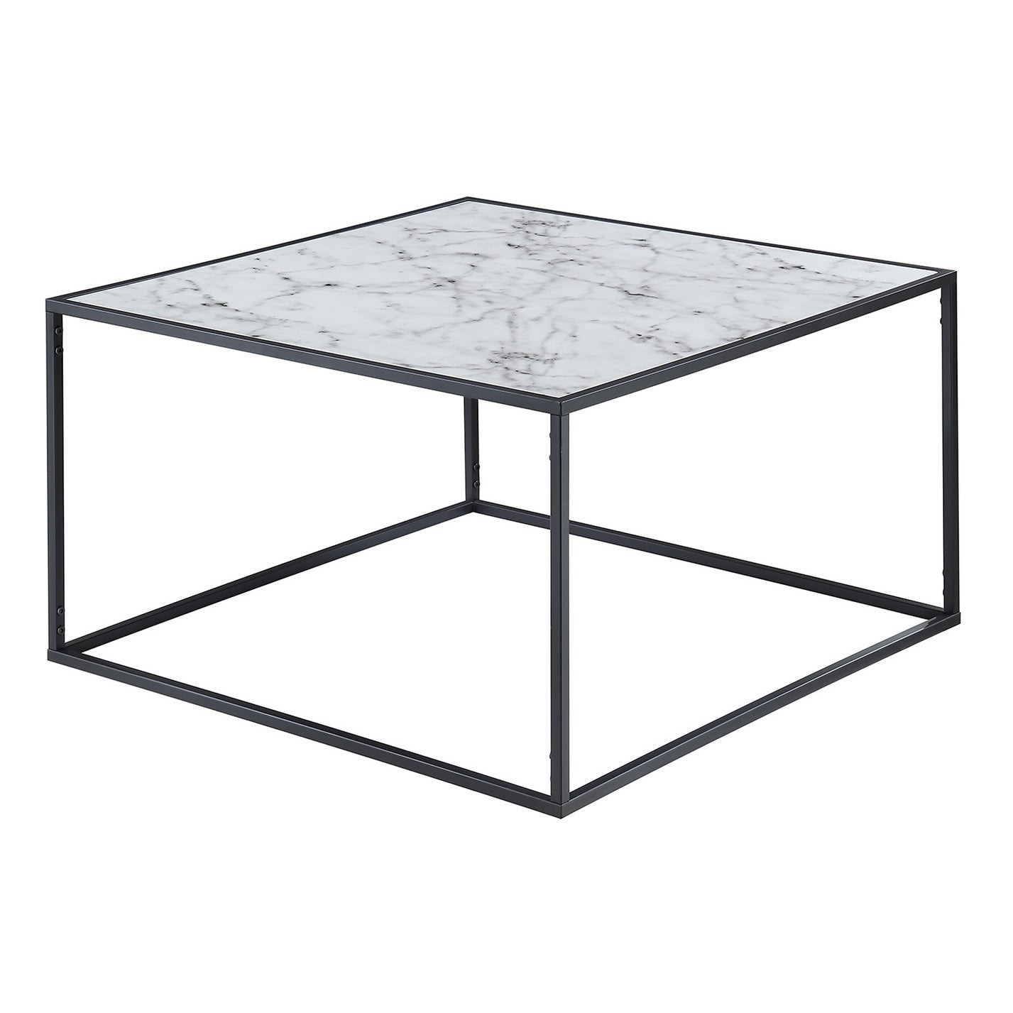 Well-known Convenience Concepts Gold Coast Faux Marble Coffee Table - Free  EY09