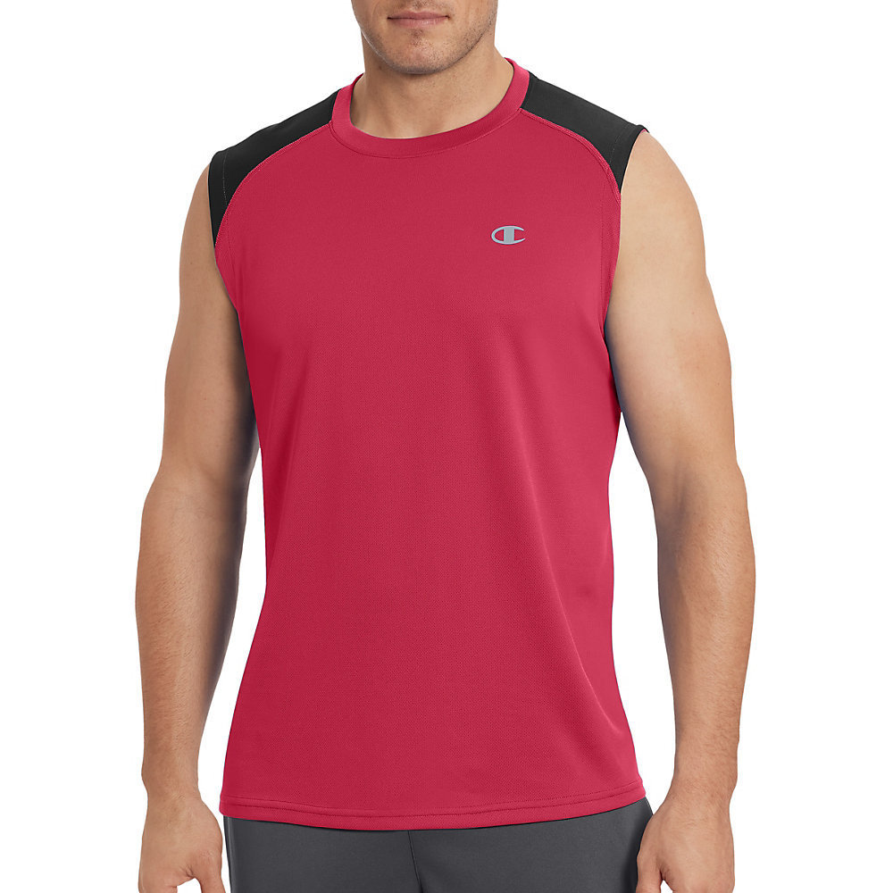 43e84807 Shop Champion Men's Vapor Select Muscle Tee - Free Shipping On Orders Over  $45 - Overstock - 14574388
