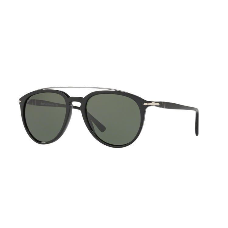 Persol PO3159S Sonnenbrille Schwarz 901458 Polarisiert 55mm KSODlW