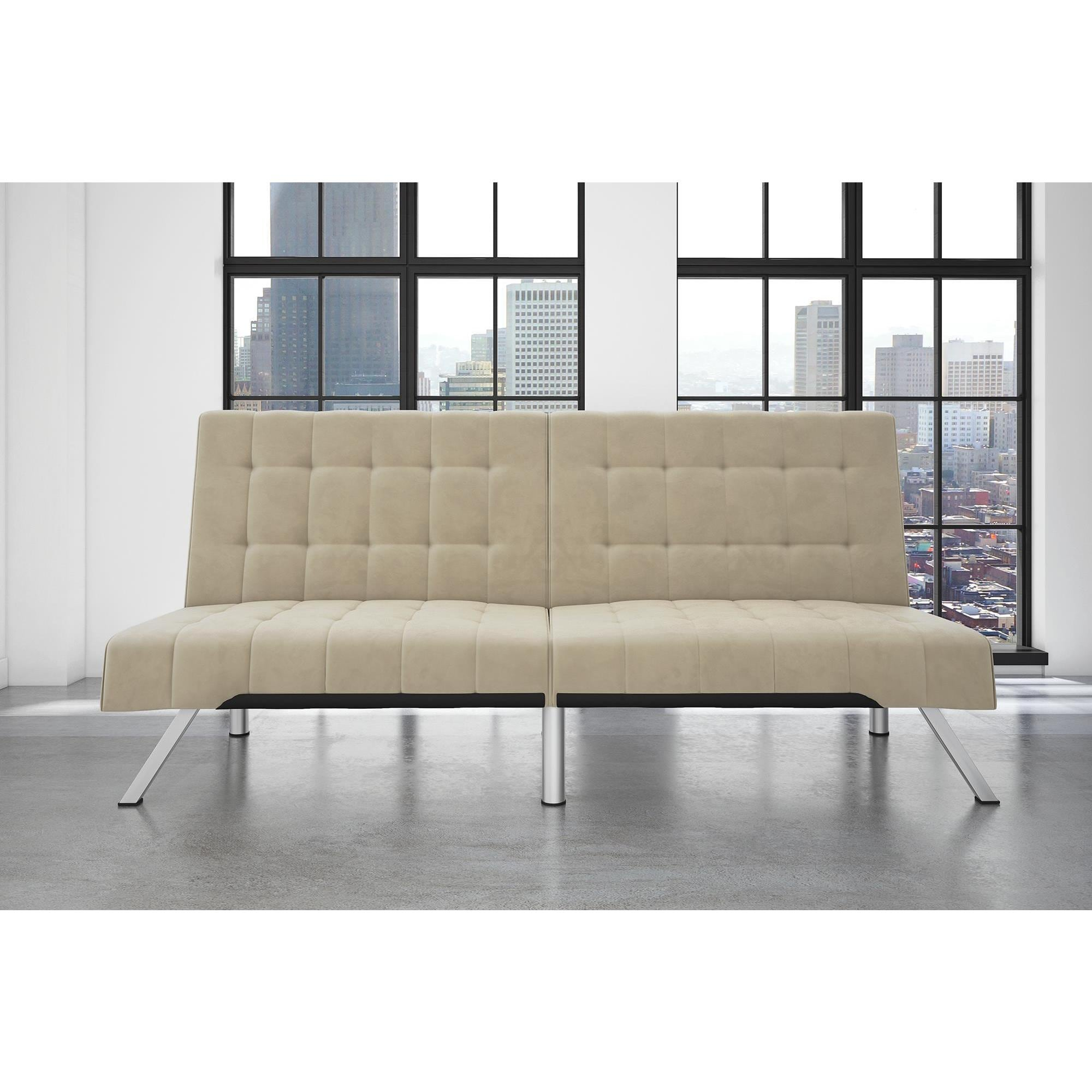 sofa futon austin futons garden today overstock free america shipping of store modern furniture product aubreth home