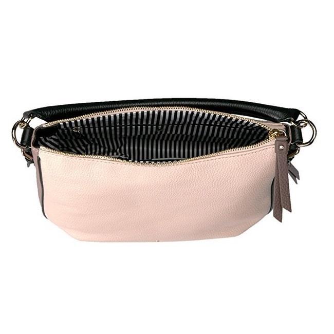 c1ab7a691417 Shop Kate Spade Cobble Hill Ella Small Rose Cloud Black Porcini Shoulder  Handbag - Ships To Canada - Overstock - 14576008