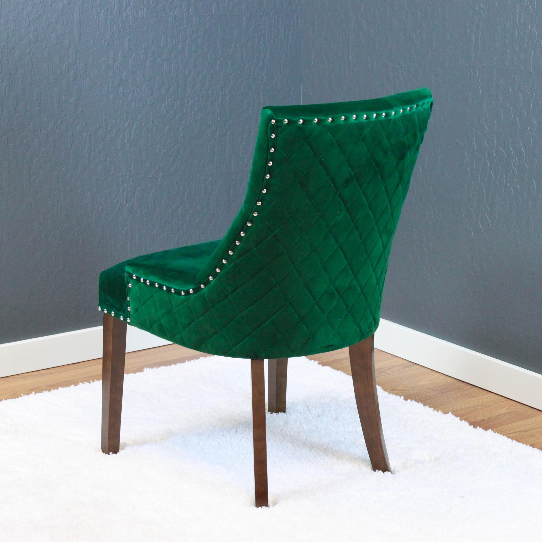 Velvet Dining Chairs Part - 22: Lemele Tufted Velvet Dining Chairs (Set Of 2) - Free Shipping Today -  Overstock.com - 21125790