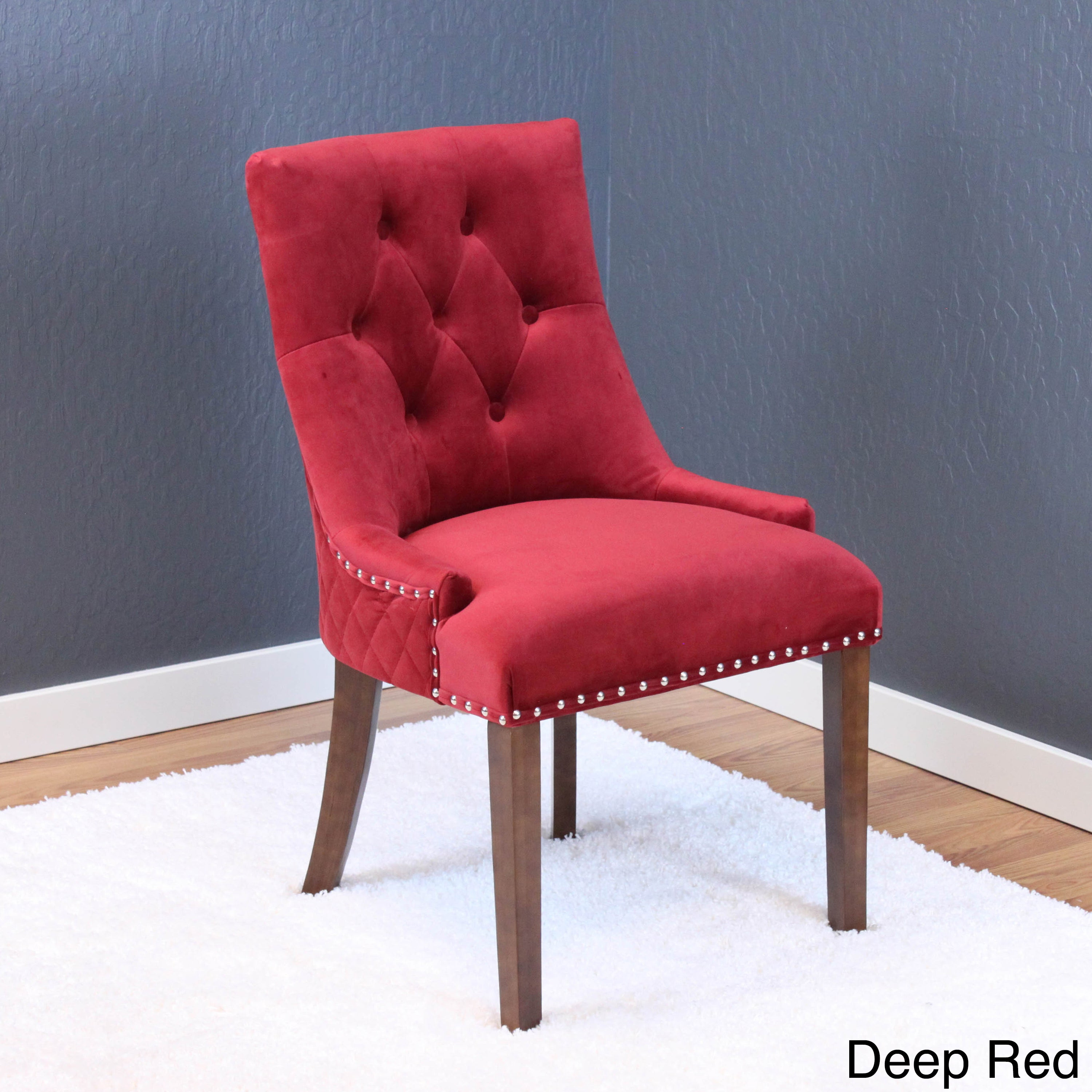 Lemele Tufted Velvet Dining Chairs Set Of 2 On Free Shipping Today 14578630