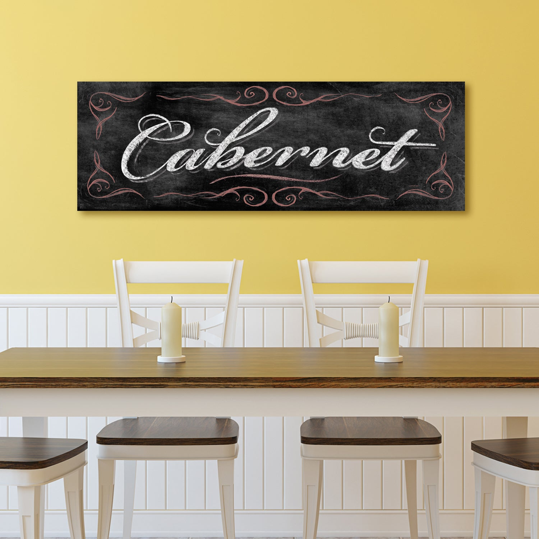 Shop Portfolio Canvas Decor IHD \'Chalkboard - Cabernet\' Wrapped ...