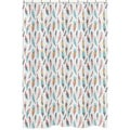 Shower Curtain for the Feather Collection by Sweet Jojo Designs