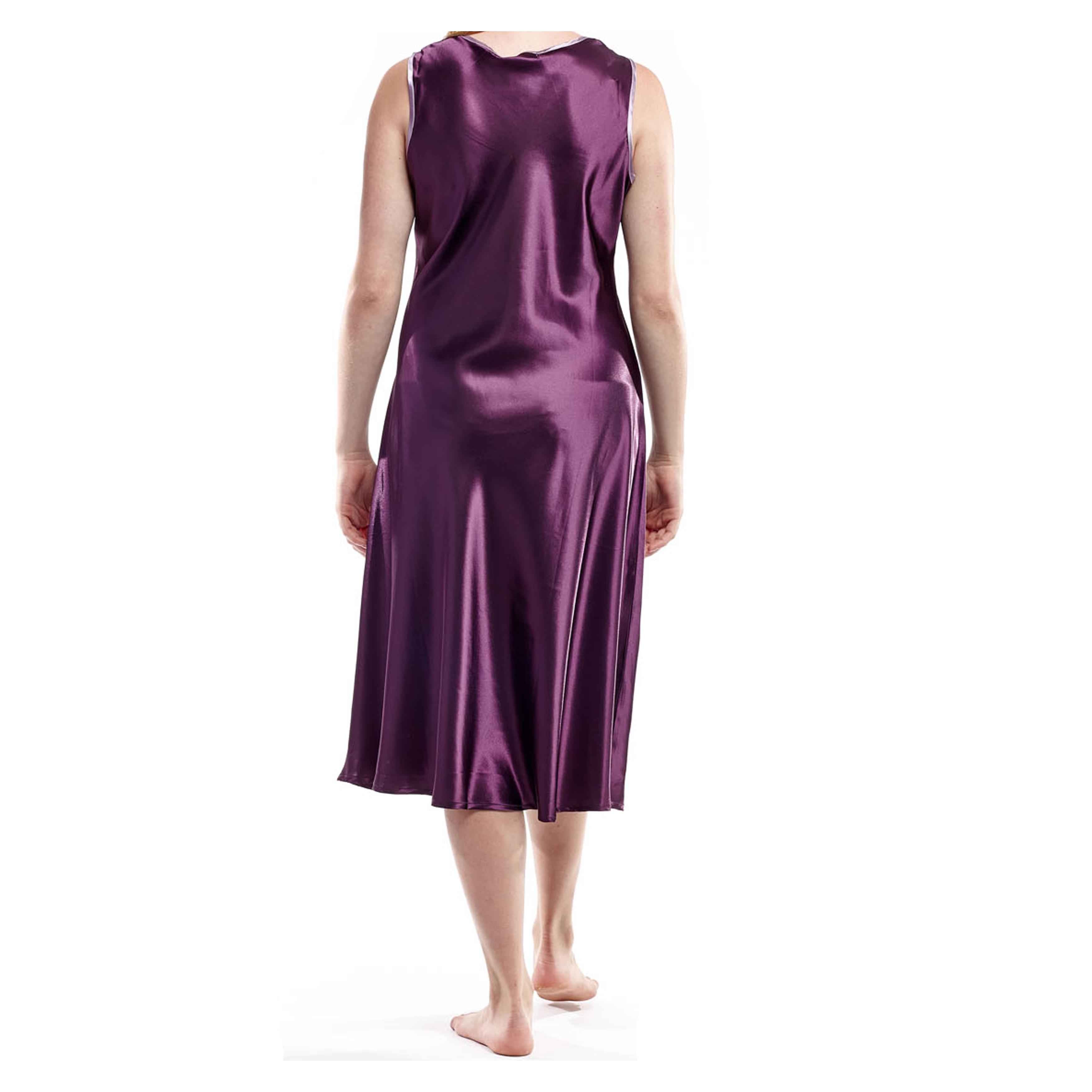La Cera Womens Plus Size Sleeveless V Neck Nightgown Free