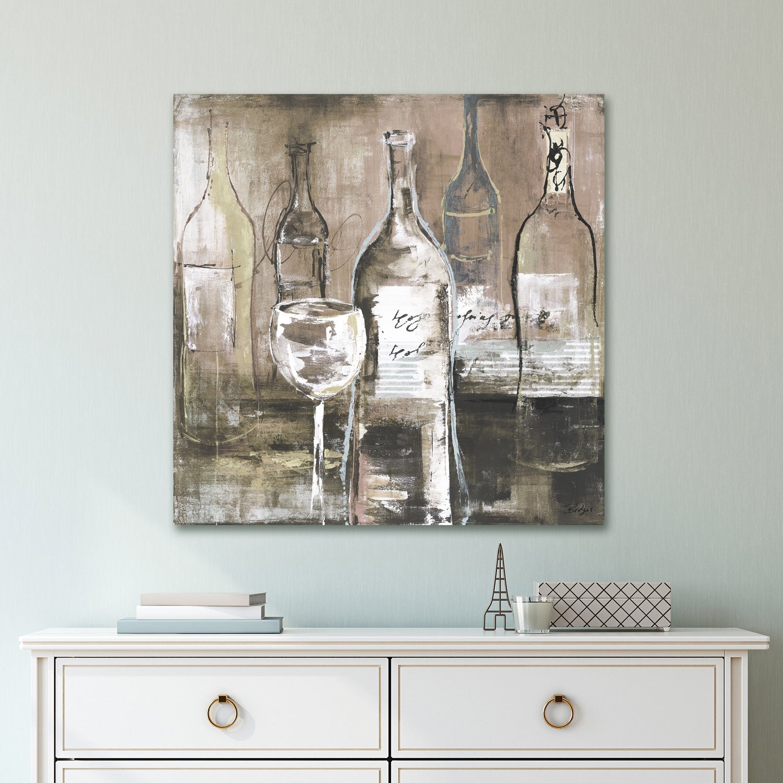 Shop Portfolio \'Wine Cellar II Grey\' by Bridges Wrapped Canvas Wall ...