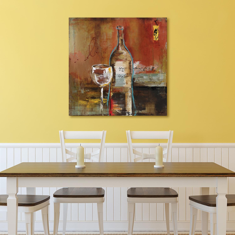 Shop Portfolio \'Wine Cellar I\' by Bridges Wrapped Canvas Wall Art ...