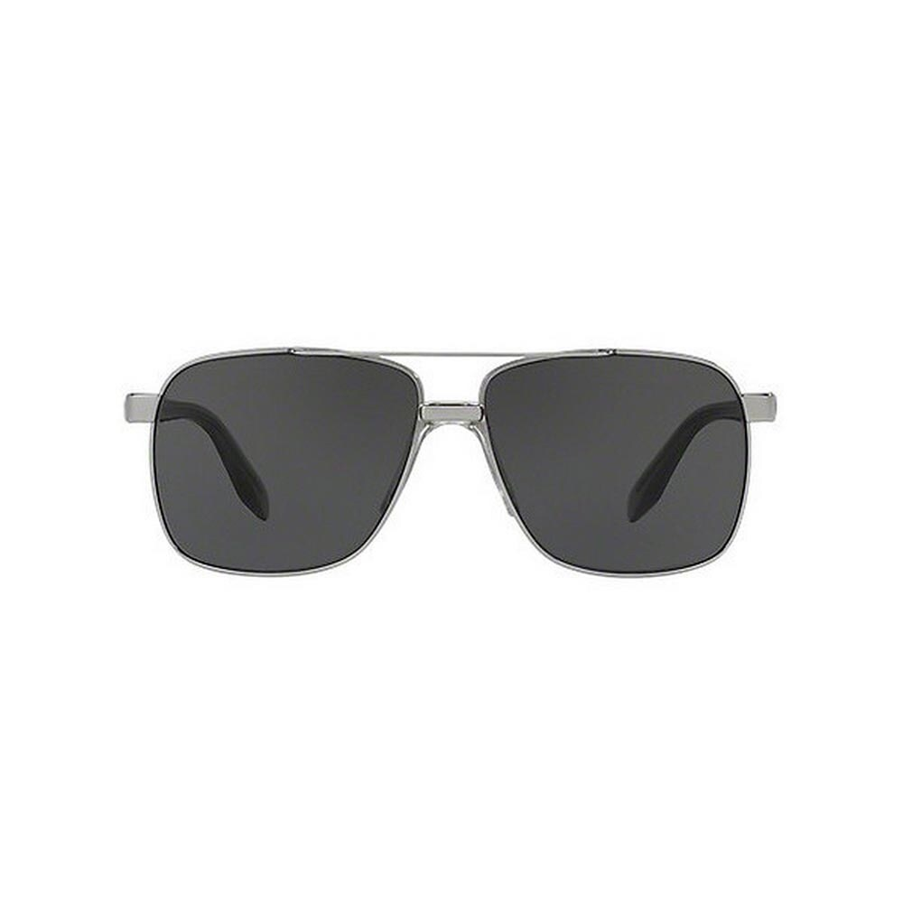 be496ff02060 Shop Versace Men s VE2174 100187 59 Square Metal Plastic Gunmetal Grey  Sunglasses - Free Shipping Today - Overstock - 14593697