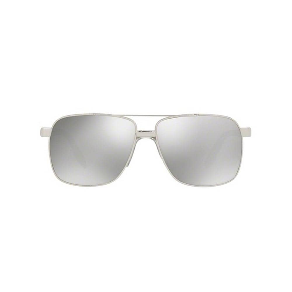 dee810e12ef Shop Versace Men s VE2174 10006G 59 Square Metal Plastic Silver Grey  Sunglasses - Free Shipping Today - Overstock - 14593699