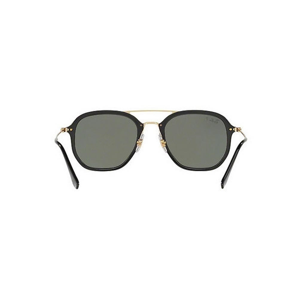 e15db8be14 Shop Ray-Ban Unisex RB4273 601 9A 52 Square Metal Plastic Black Green  Sunglasses - Free Shipping Today - Overstock.com - 14593711