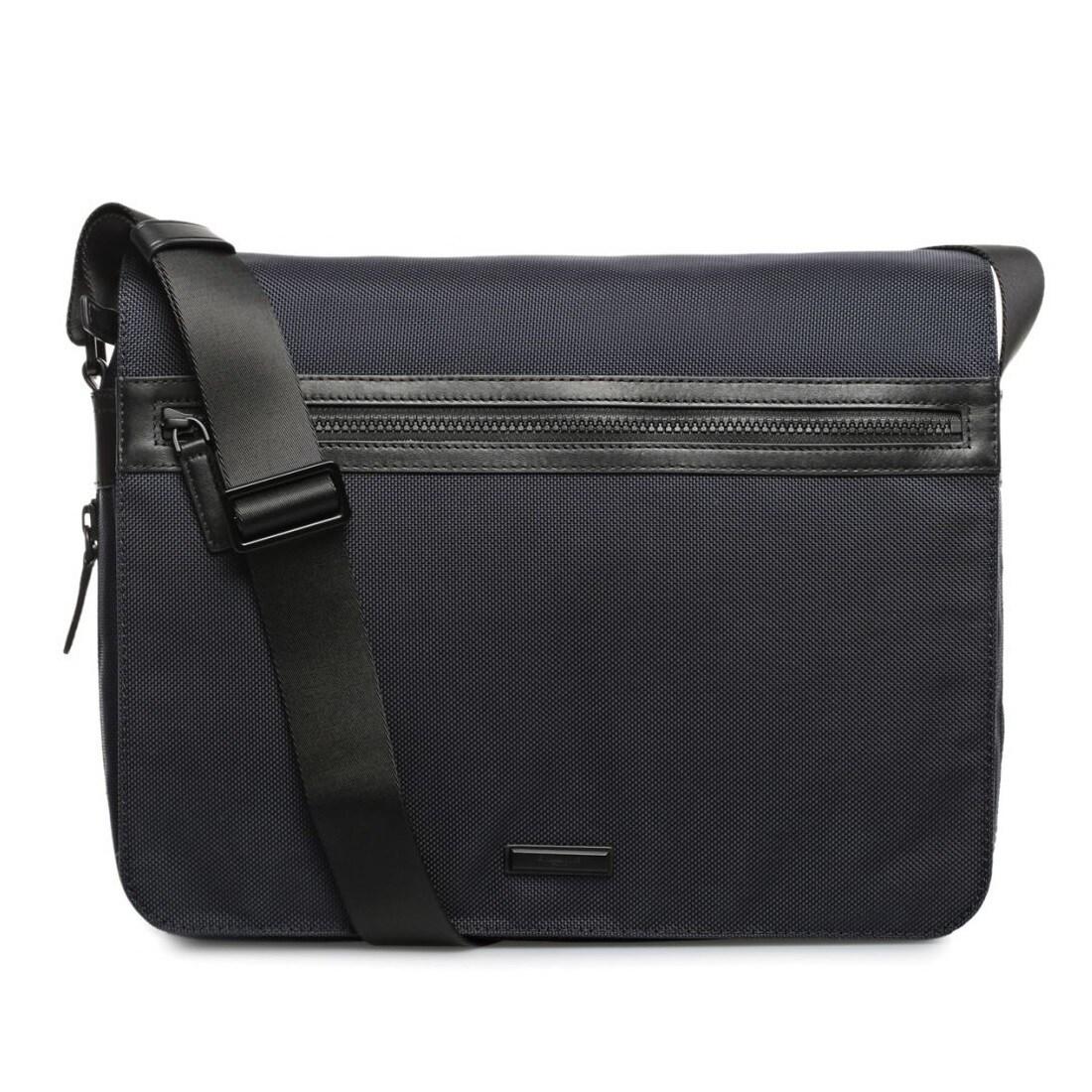 Michael Kors Parker Large Navy 13 Inch Laptop Messenger Bag