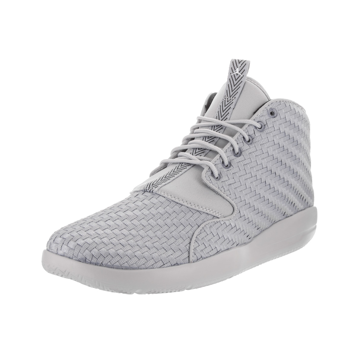 cdd0cee74e0559 Nike Jordan Men s Jordan Eclipse Chukka Grey Woven Textile Basketball Shoes
