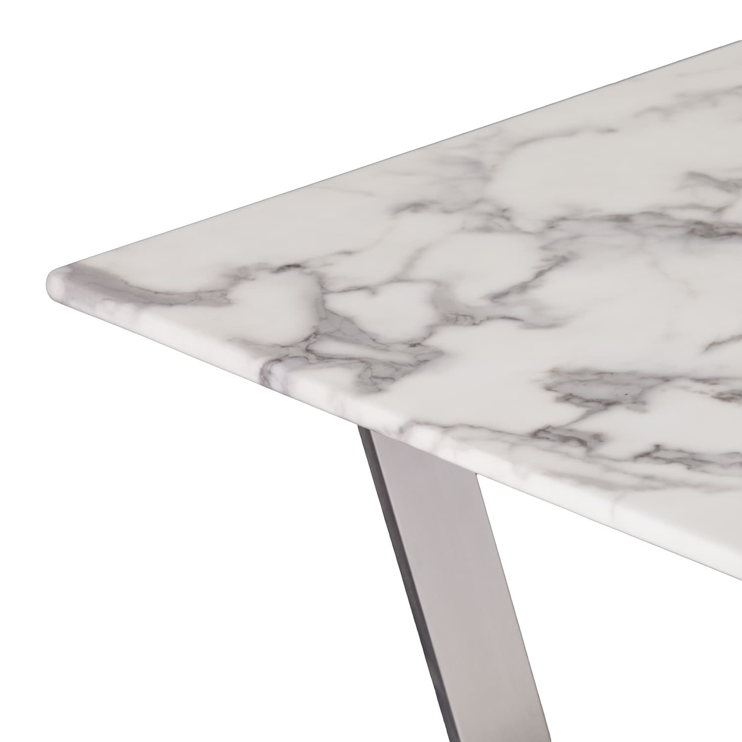 Oliver James Kaceli Faux Marble Tail Table Free Shipping Today 22801621