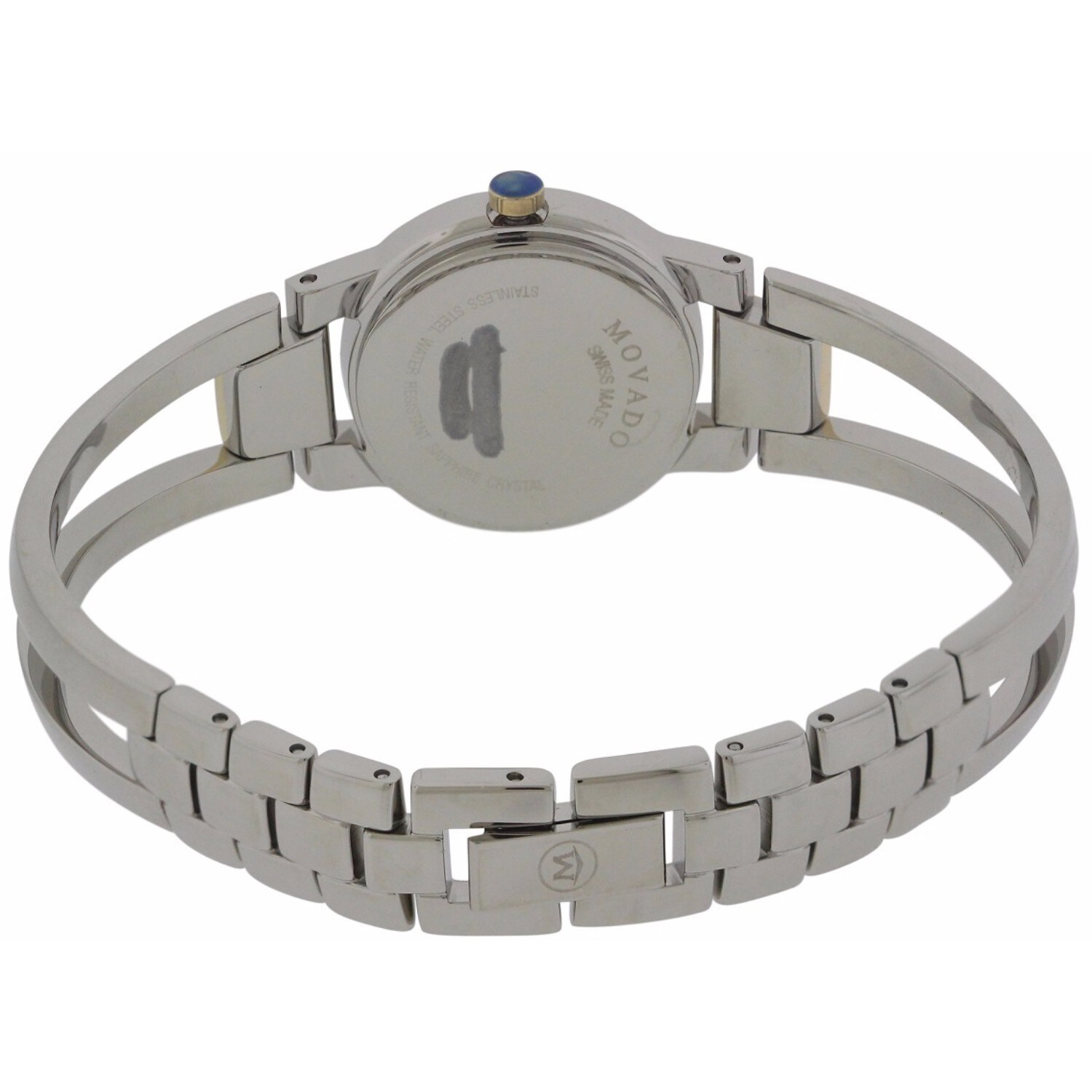 54420b5cd12 Shop Movado Women s 0606894 Amorosa Stainless Steel Lady s Watch - Free  Shipping Today - Overstock - 14595888
