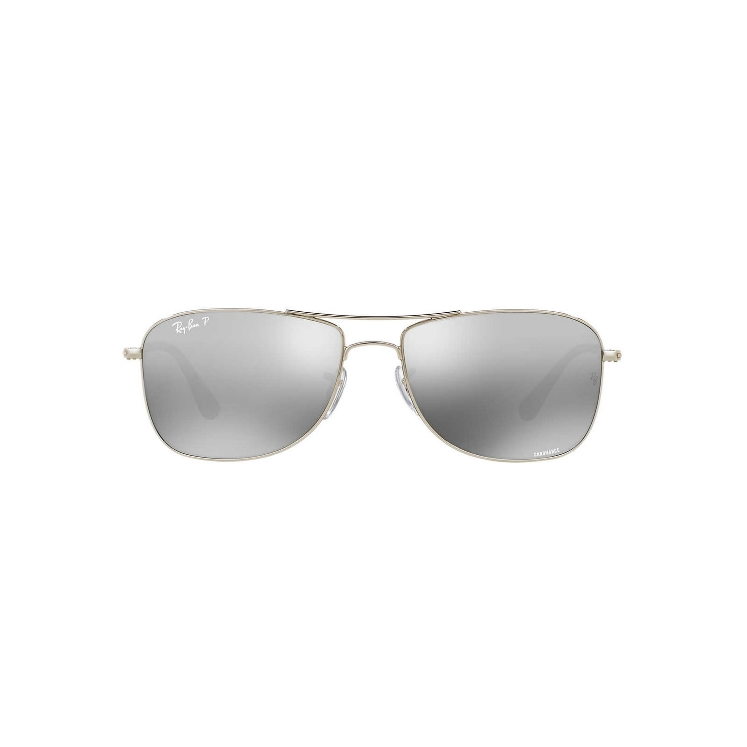adc16f42c5b Shop Ray-Ban Unisex RB3543 003 5J 59 Aviator Metal Plastic Silver Grey  Sunglasses - Ships To Canada - Overstock.ca - 14602335