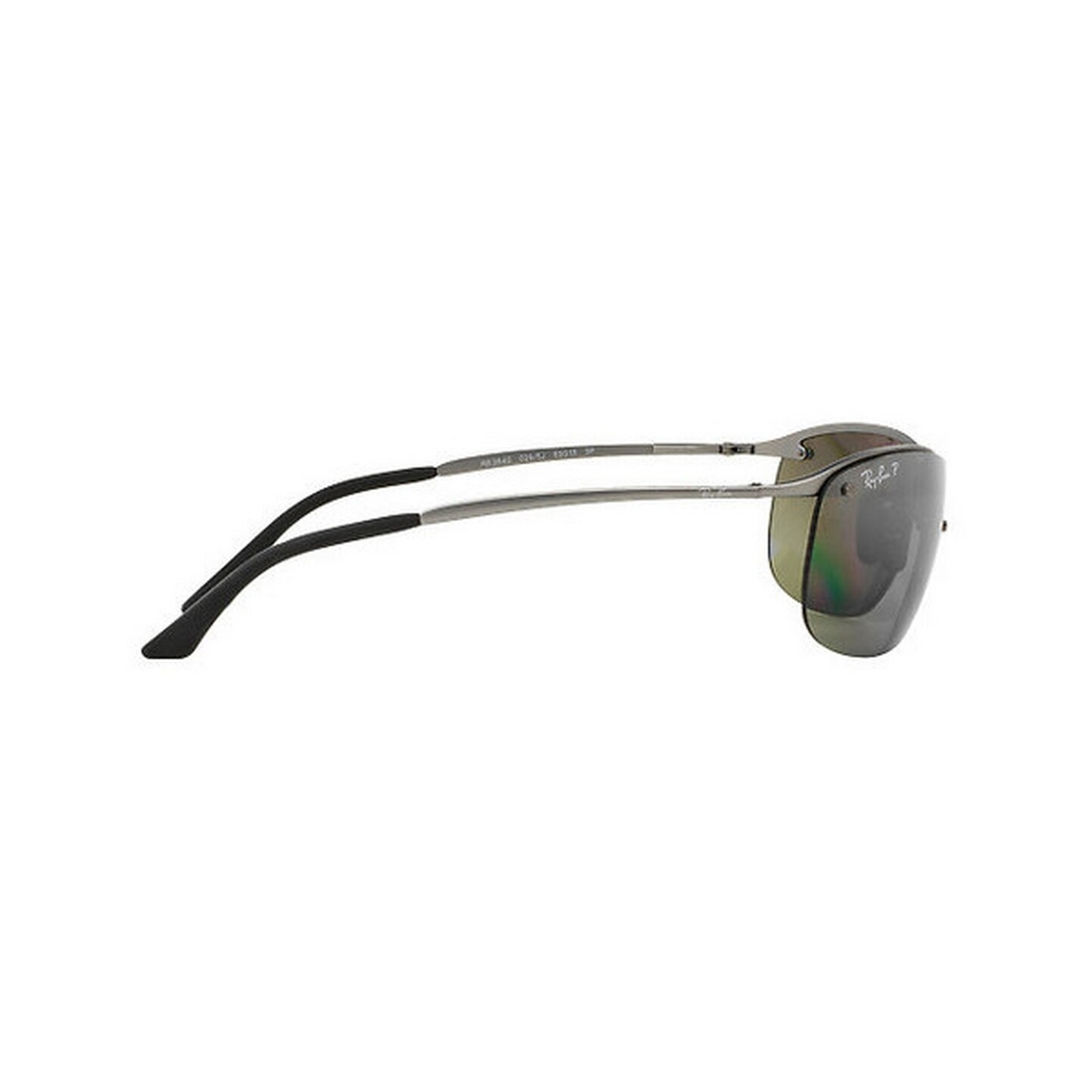 ea7dd4f8cf Shop Ray-Ban Men s RB3542 029 5J 63 Rectangle Metal Plastic Gunmetal Grey  Sunglasses - Free Shipping Today - Overstock - 14602339