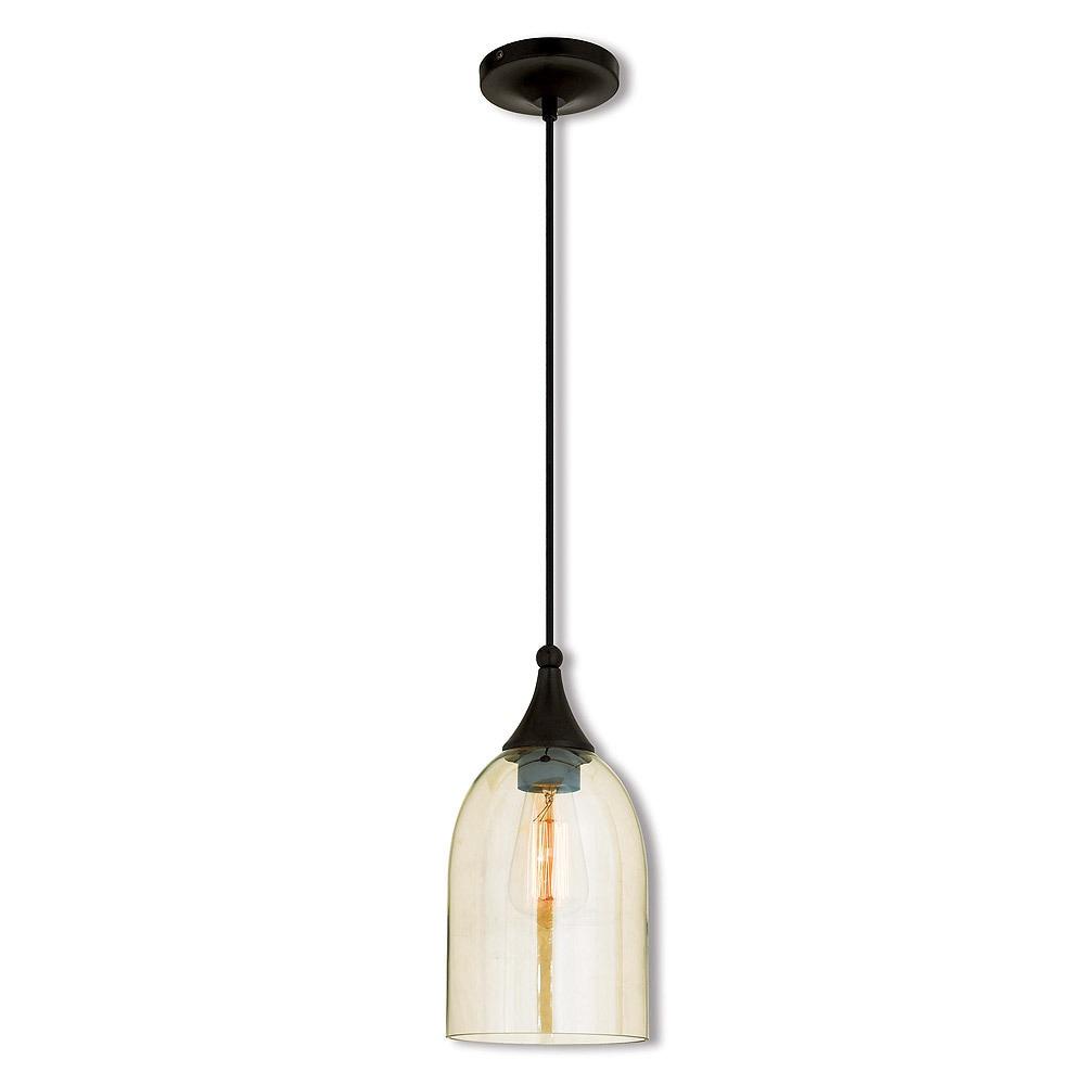 Livex Lighting English Bronze Art Gl Single Light Mini Pendant Free Shipping Today 14627704