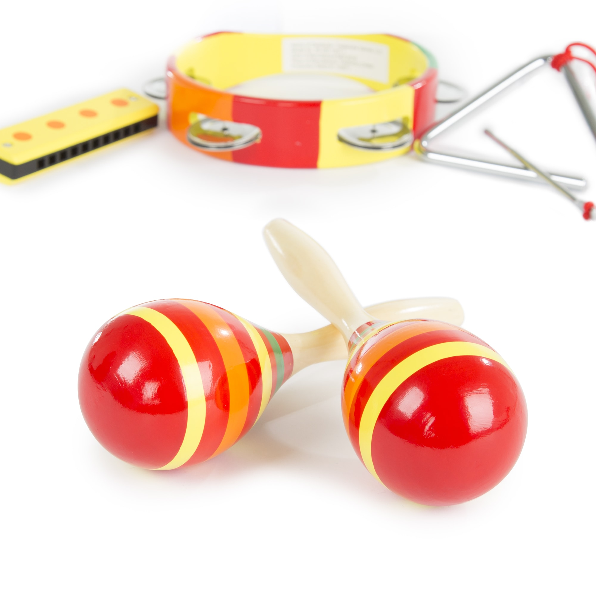 Shop Hey Play Kids Percussion Musical Instruments Toy Set Free