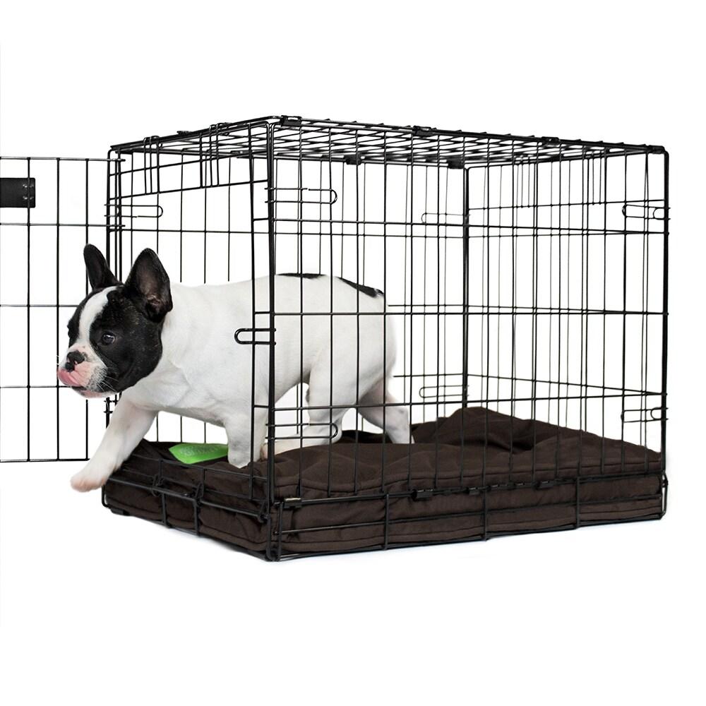 Shop Orthopedic Memory Foam Chocolate Dog Crate Pad On Sale Free