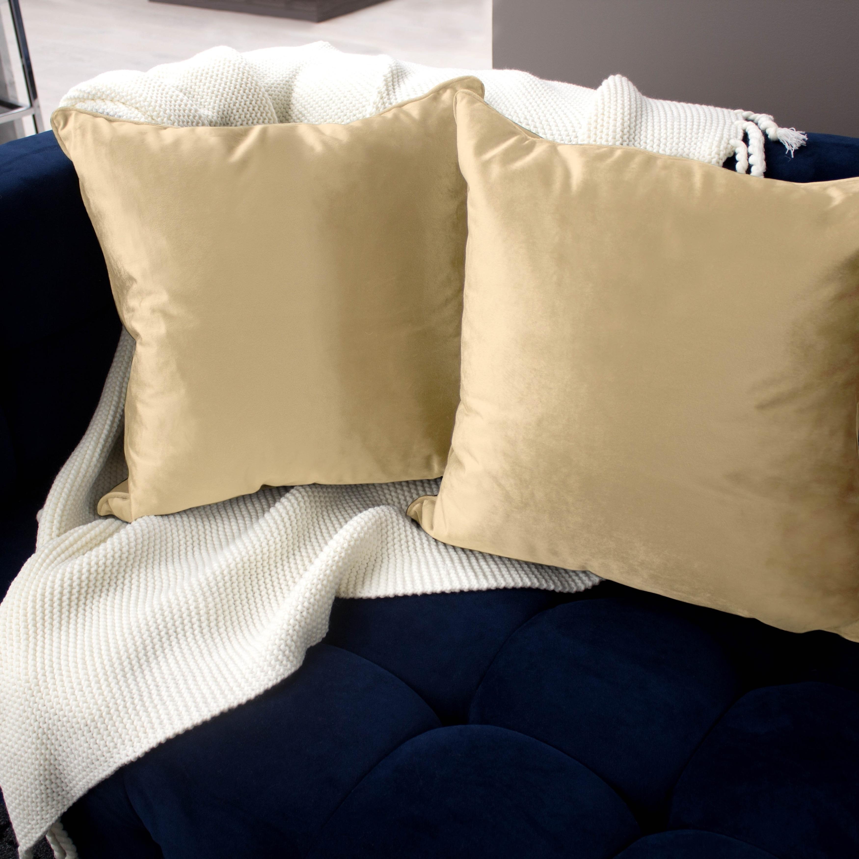 Jean Pierre Lucas Velvet 2-Piece Decorative Pillow Set - Free ...