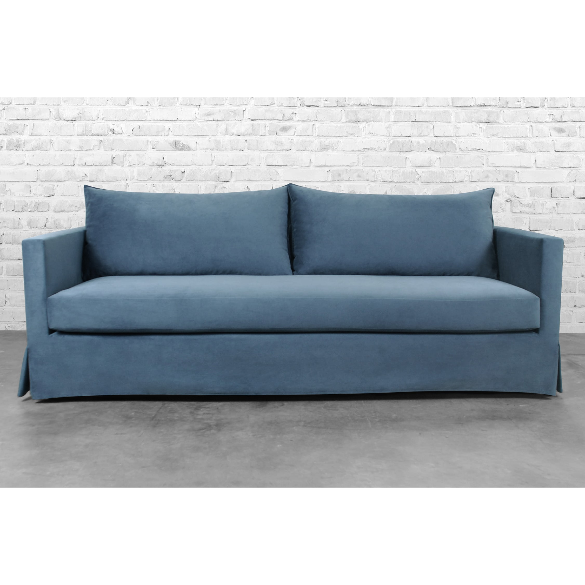 define slipcovered sofa products miles interior slipcover