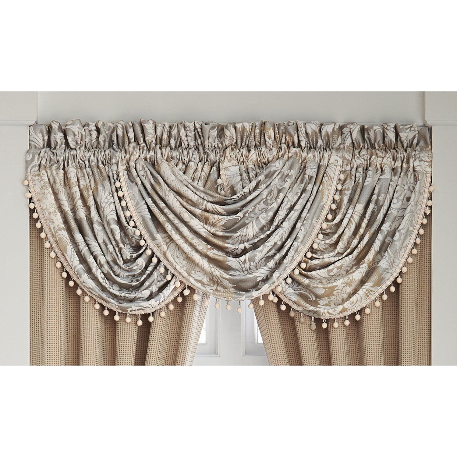 with of curtains window valance how valances decorate hang sebastian beaded waterfall designs your to image