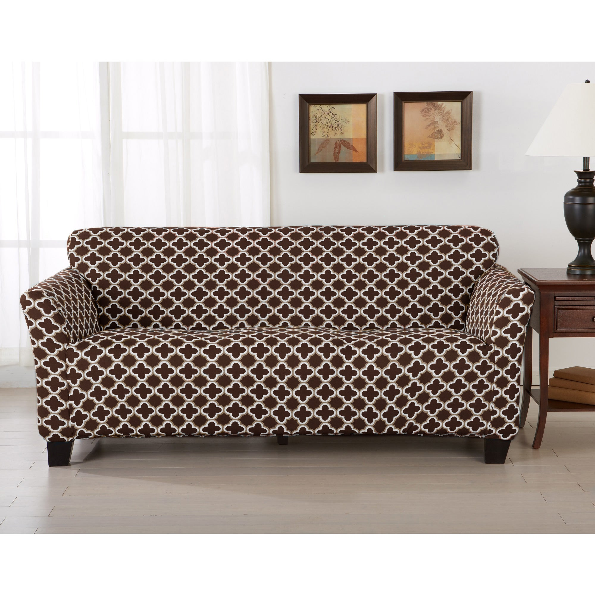 Shop Home Fashion Designs Brenna Collection Stretch Form Fitted Sofa