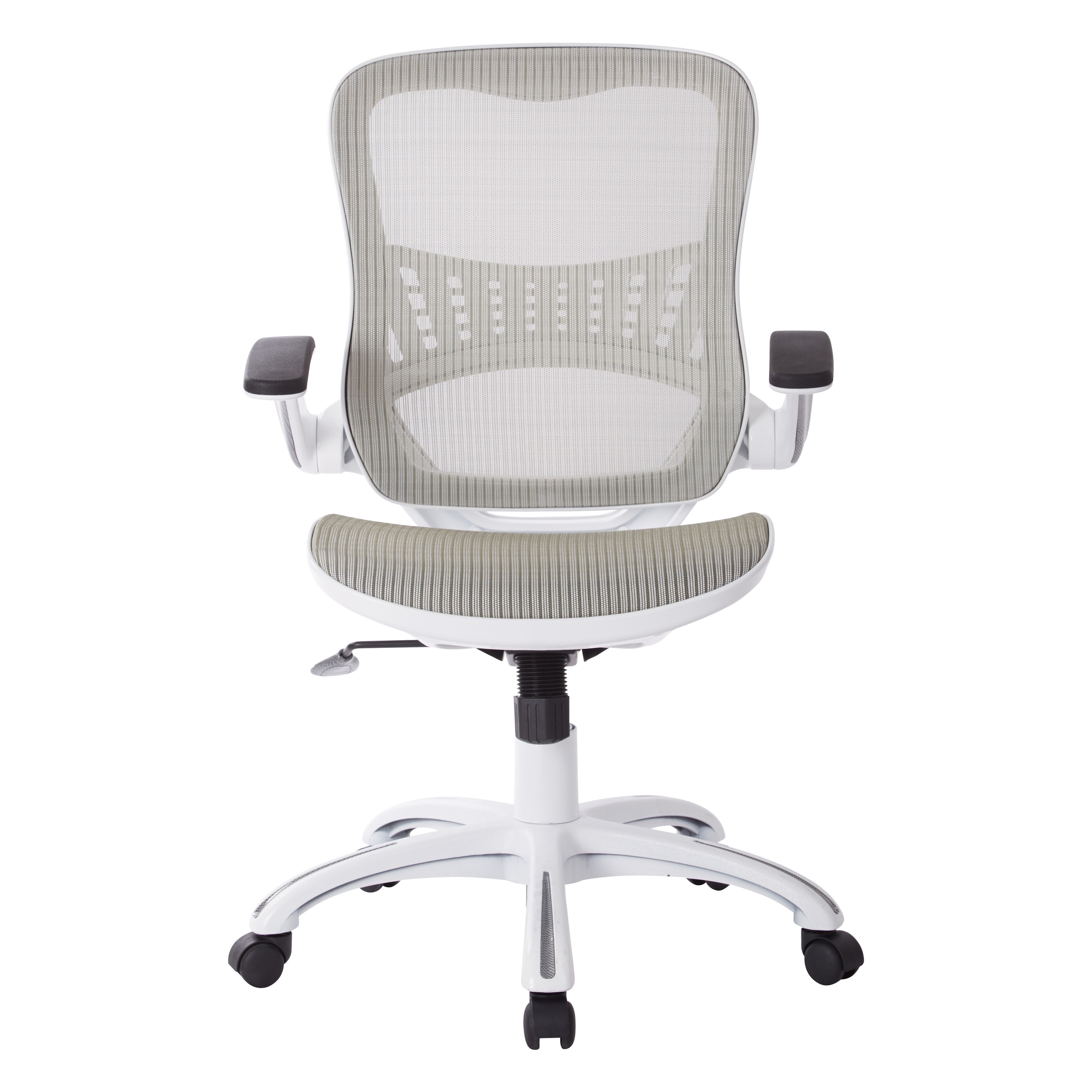 Riley fice Chair with White Mesh Seat and Back Free Shipping