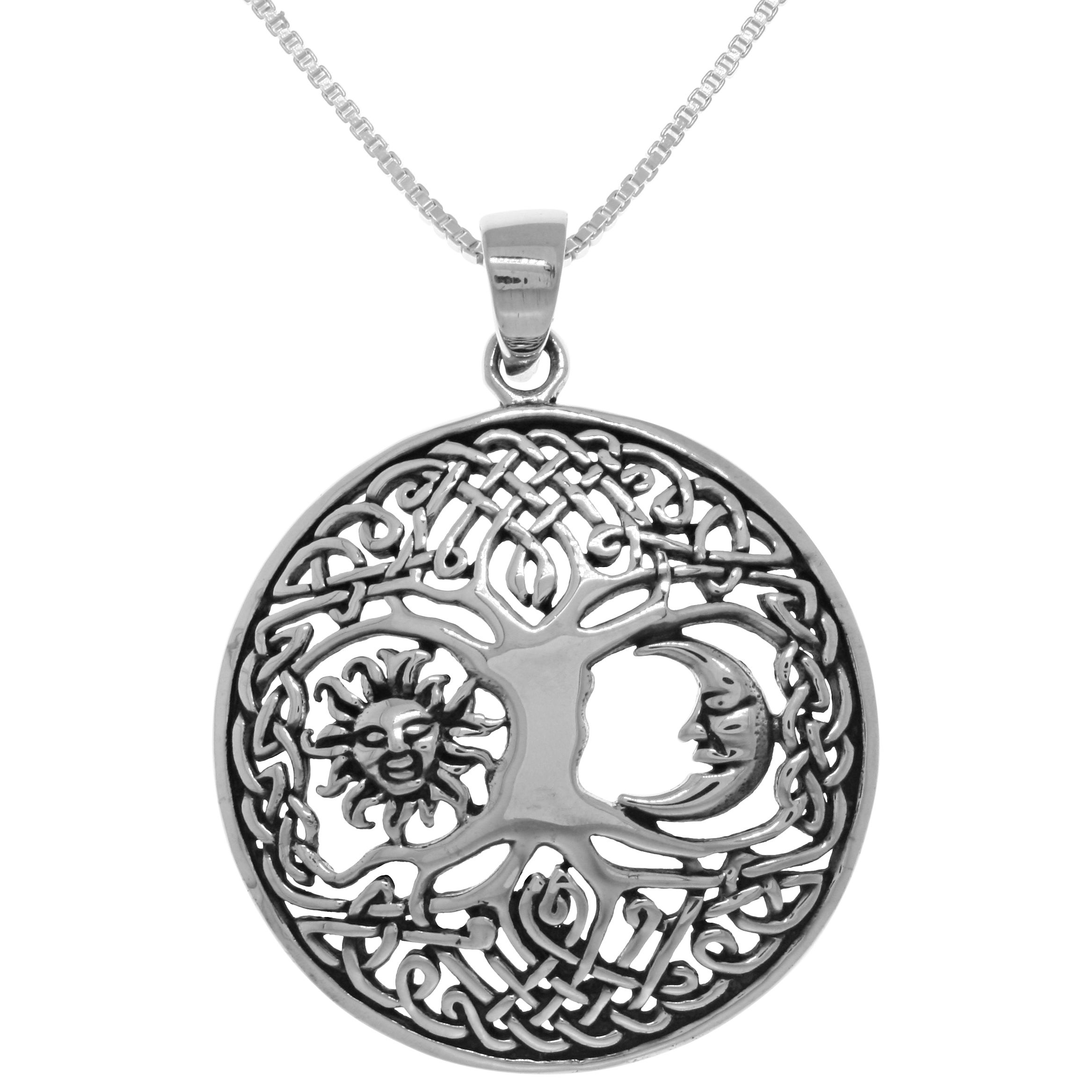gold circle products stone designs no moon sun moonsunsm silver necklace