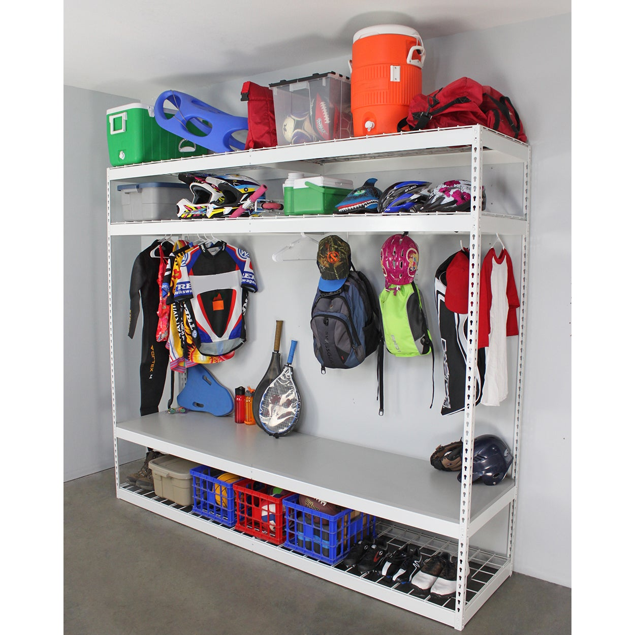 Saferacks Sports Equipment Organizer Free Shipping Today 14639262