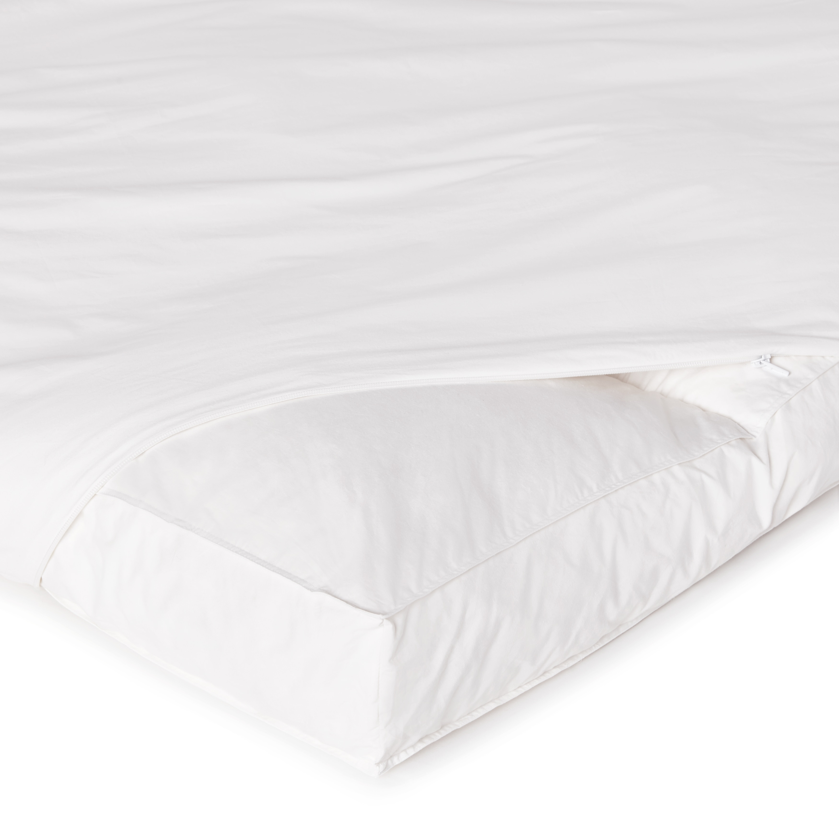super snooze 5 inch 230 thread count baffled featherbed set free