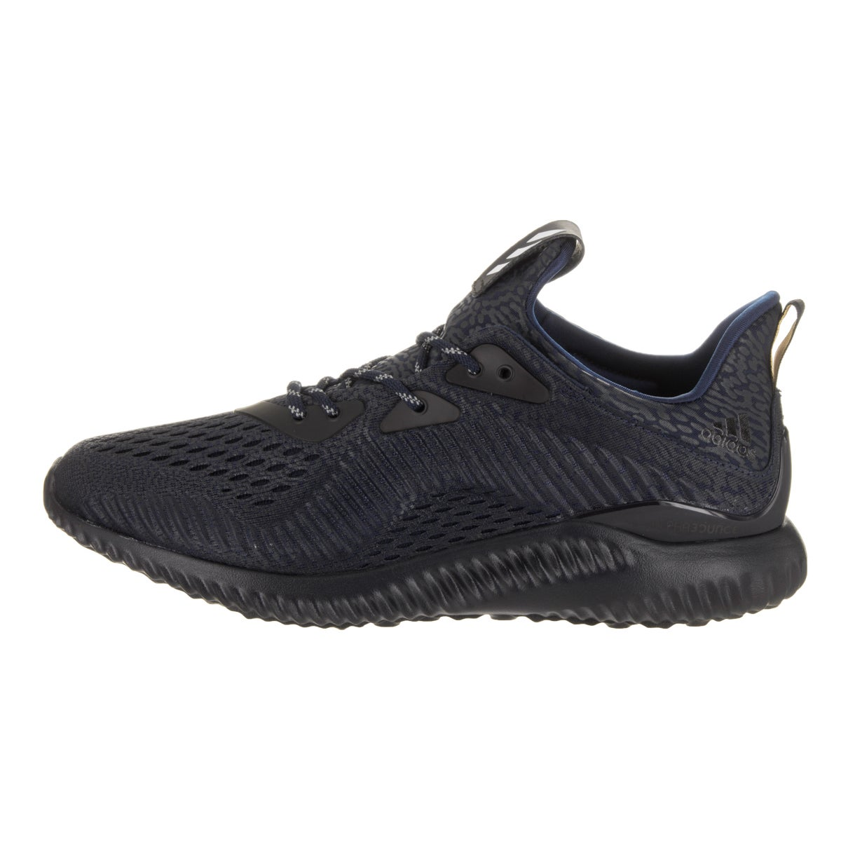 96bf928ad Shop Adidas Men s Alphabounce Ams Mystery Blue Mesh Running Shoe - Free  Shipping Today - Overstock.com - 14645766