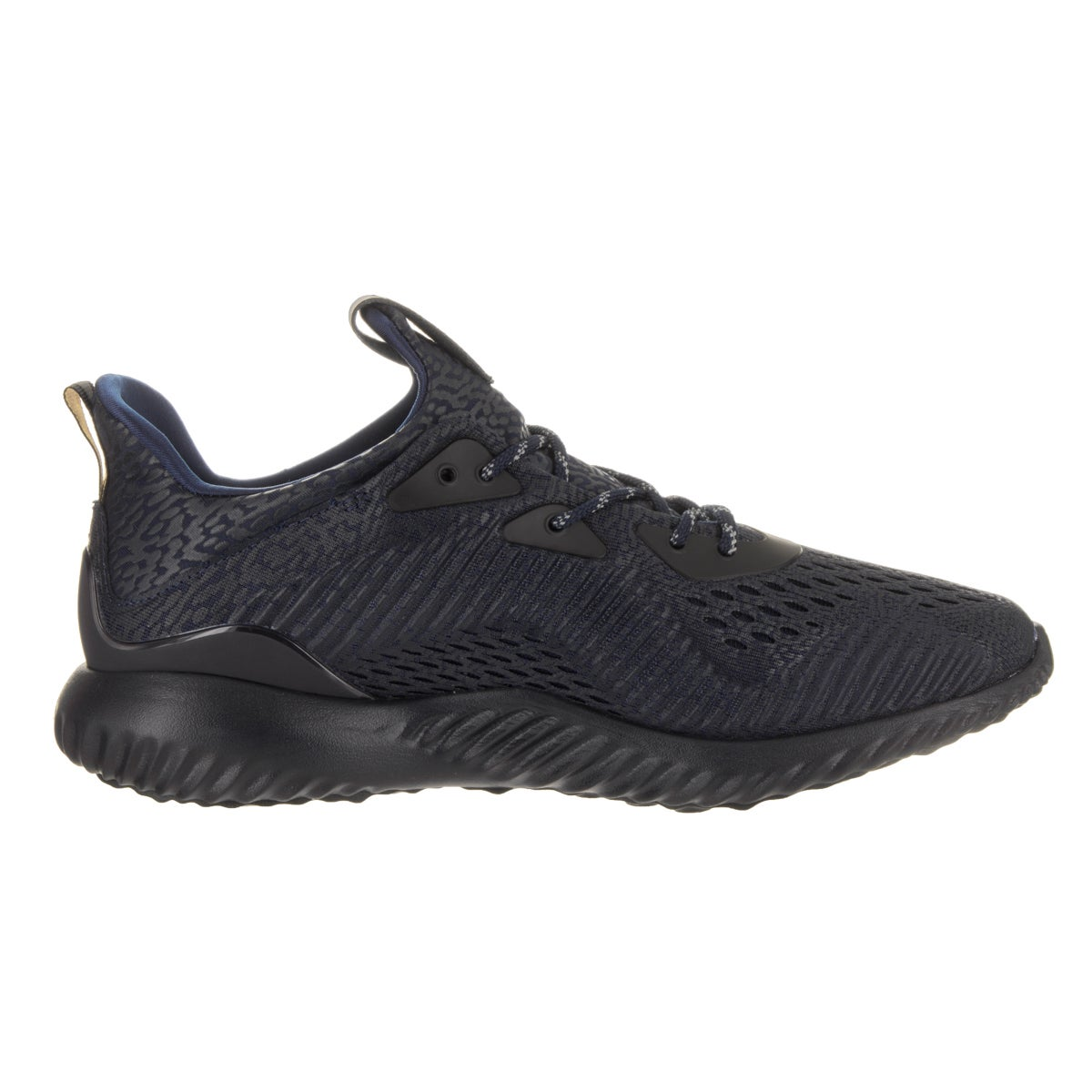 8cc0521db Shop Adidas Men s Alphabounce Ams Mystery Blue Mesh Running Shoe - Free  Shipping Today - Overstock.com - 14645766