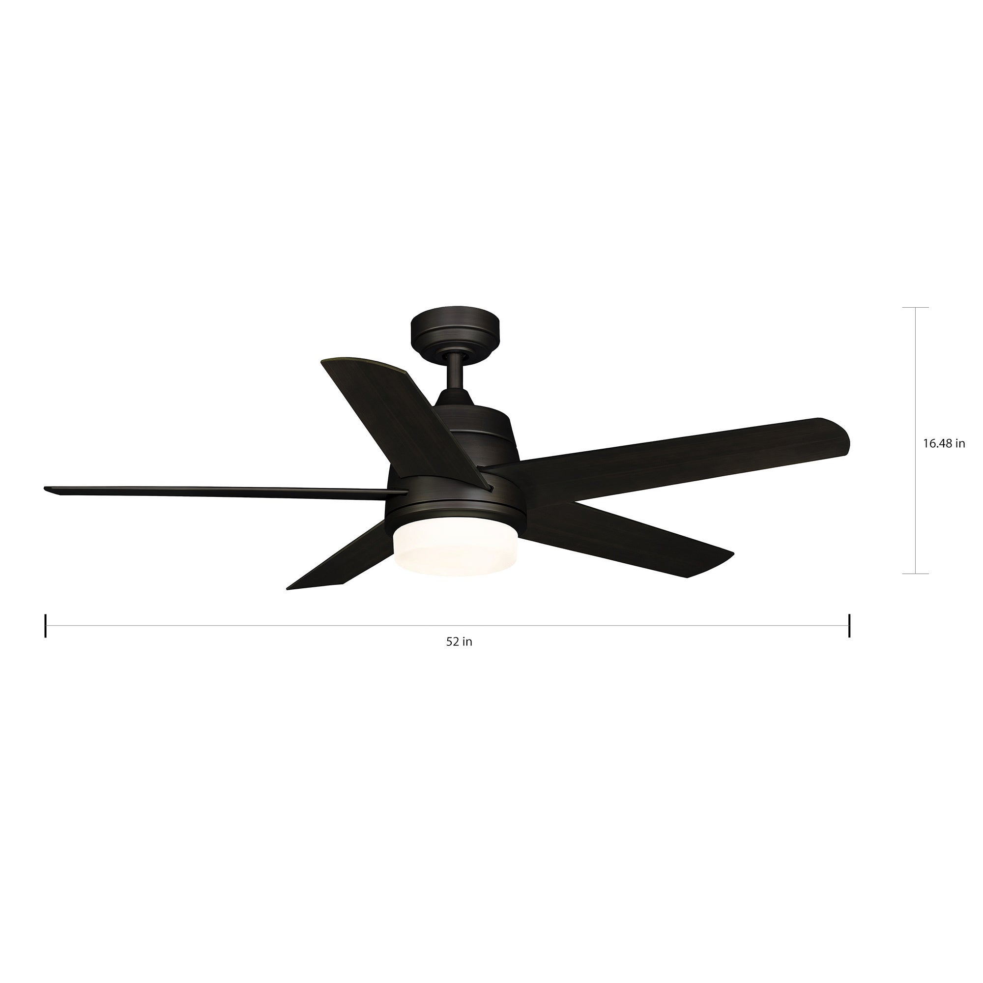 ms acorn nl ac bronze ceiling product fan livingshack ab