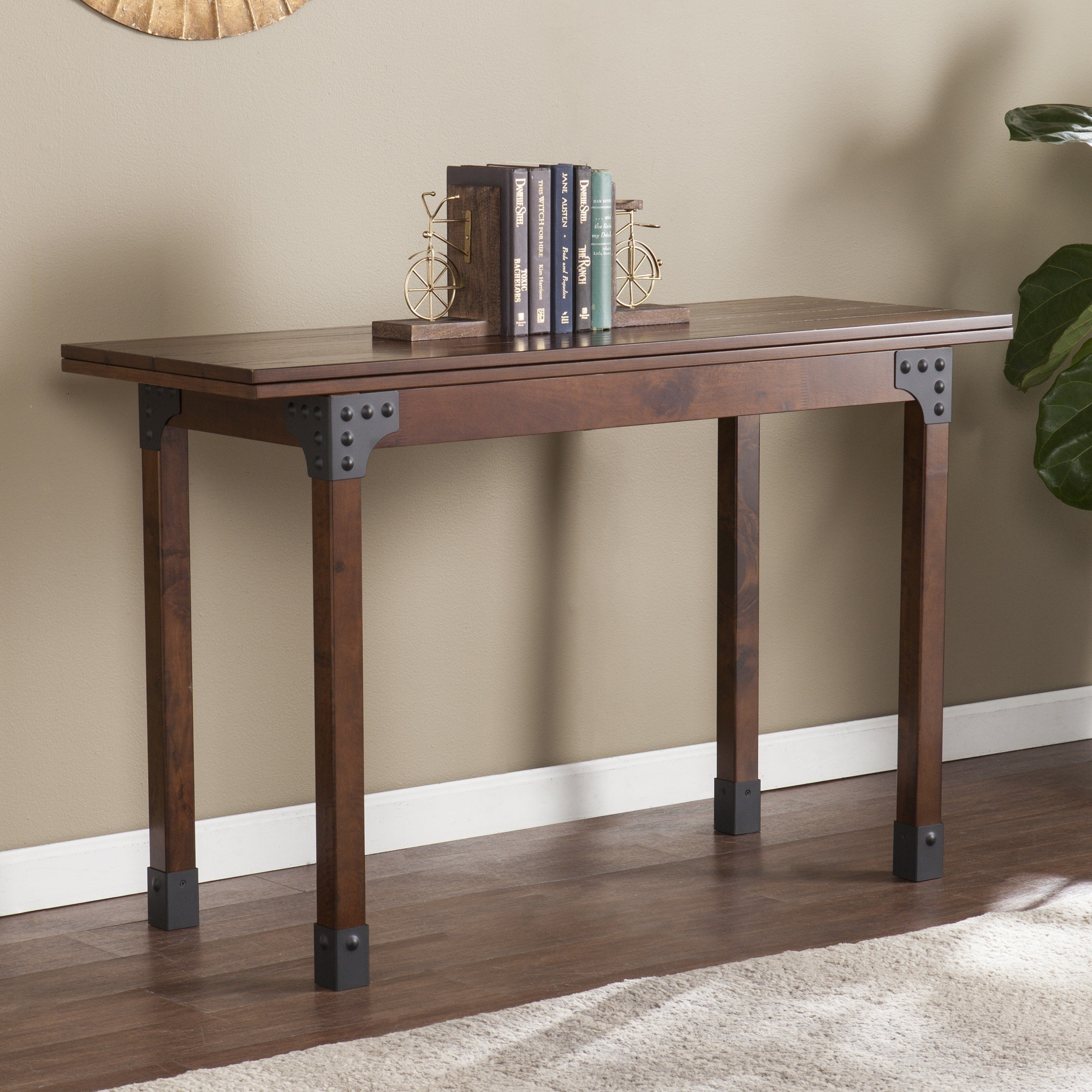 Harper Blvd Dirby Convertible Console Dining Table Free Shipping Today 14646656